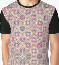 prismatic art abstract explode seamless colorful repeat pattern Graphic T-Shirt