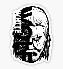 Geralt White Wolf Sticker