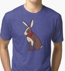 Peppy Hare Tri-blend T-Shirt
