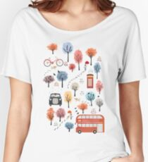 London transport Women's Relaxed Fit T-Shirt