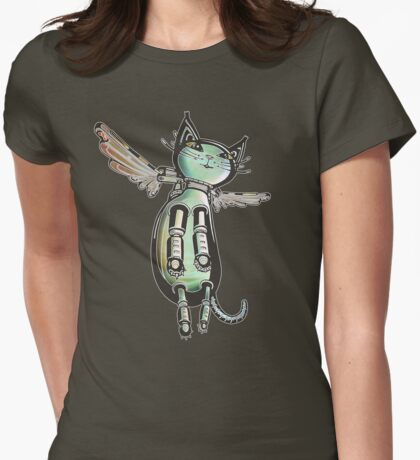 Winged Cat colored version T-Shirt