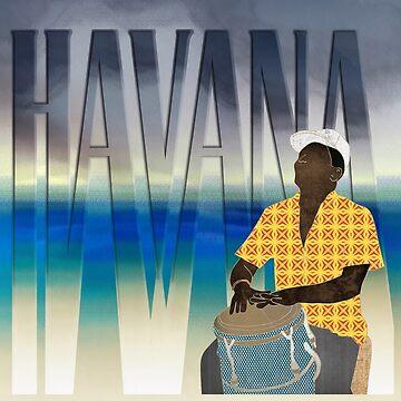 Havana Conguero  by janetcarlson