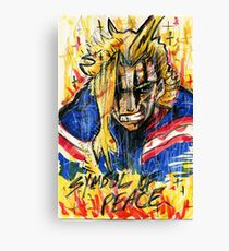 Symbol of Peace (All Might) Canvas Print