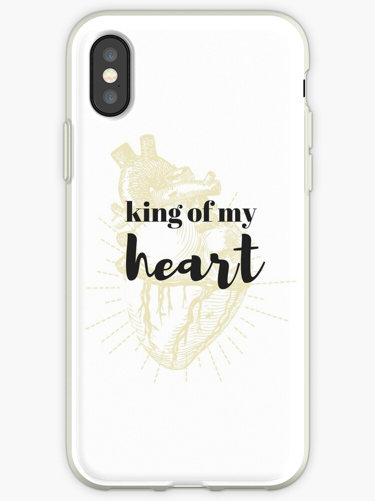 best sneakers bc81d 1418e 'King of My Heart Taylor Swift' iPhone Case by alltoosofia
