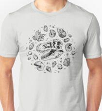 Geo-rex Vortex | Black Unisex T-Shirt