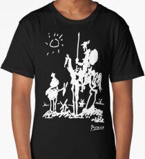 Pablo Picasso Don Quixote 1955 Artwork Shirt, Reproduction Long T-Shirt