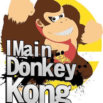 Super Smash Bros. Ultimate - I Main Donkey Kong (DK) by PrincessCatanna