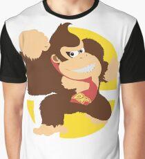 Super Smash Bros. Ultimate - Donkey Kong (DK) Graphic T-Shirt