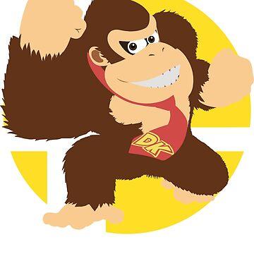 Super Smash Bros. Ultimate - Donkey Kong (DK) by PrincessCatanna
