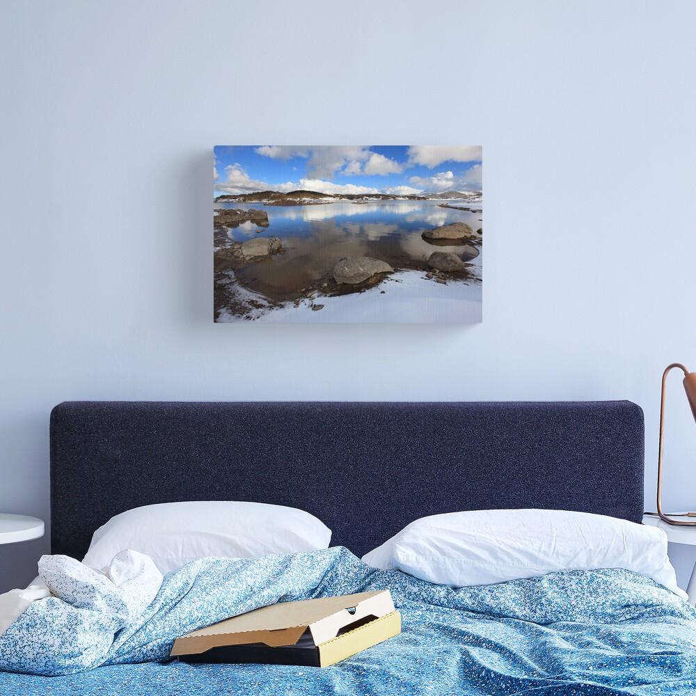 Rocky Valley Pondage, Falls Creek, Australia Canvas Print