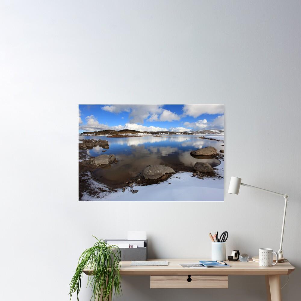 Rocky Valley Pondage, Falls Creek, Australia Poster