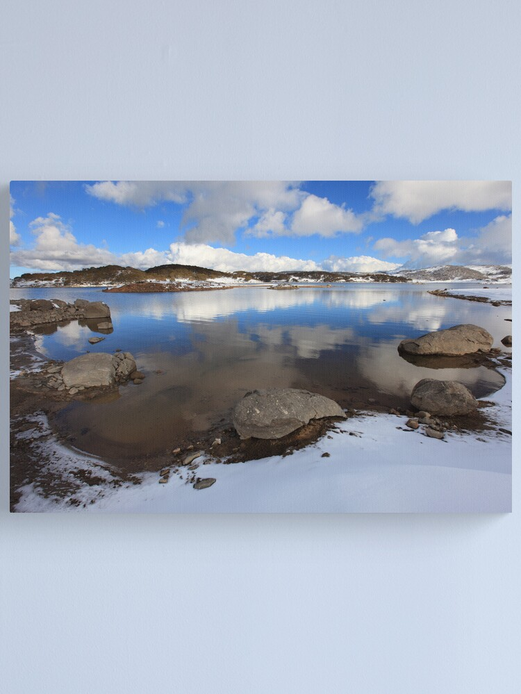 Alternate view of Rocky Valley Pondage, Falls Creek, Australia Canvas Print