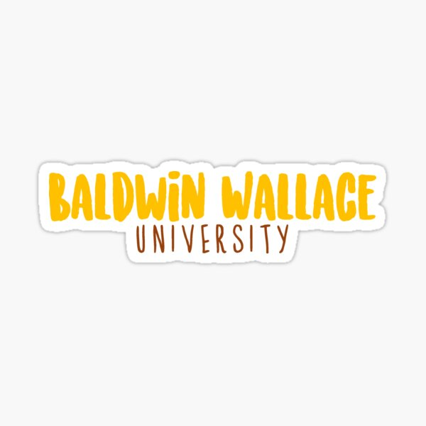 Baldwin Wallace University Sticker