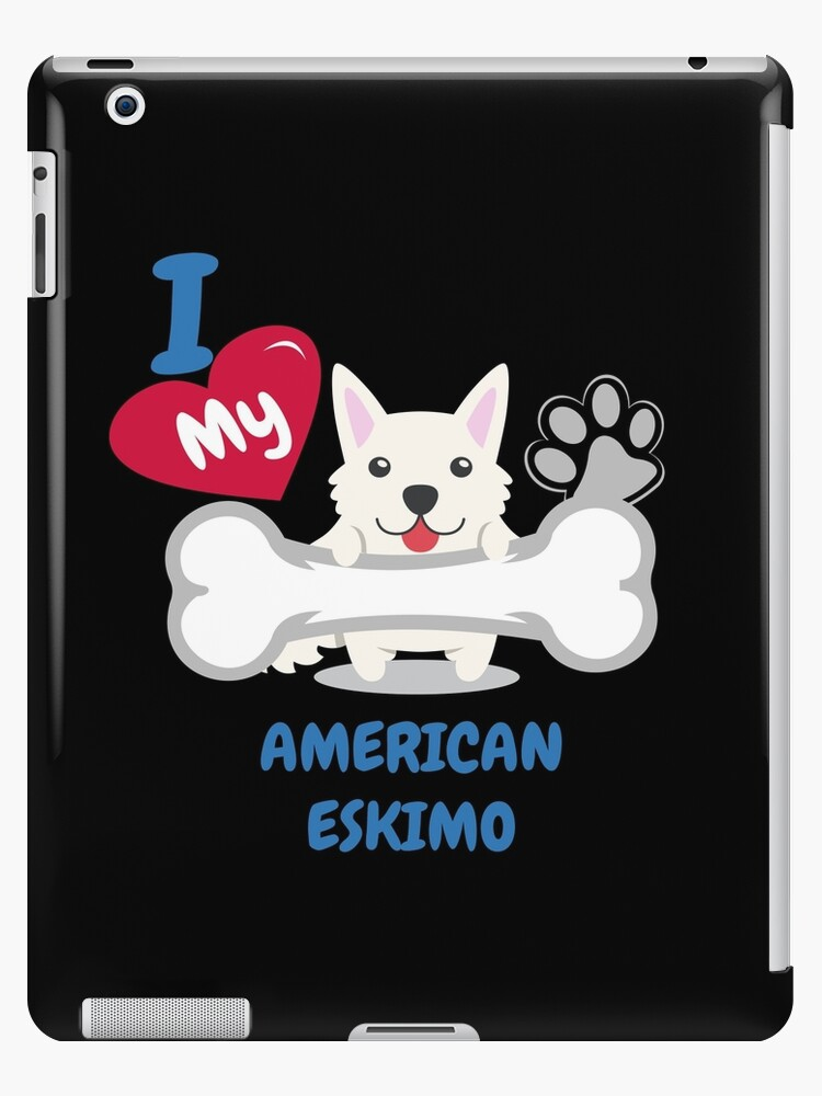 American Eskimo Cute Dog Gift Idea Funny Dogs Ipad Cases Skins By