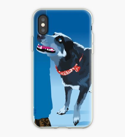 blue heeler iPhone Case