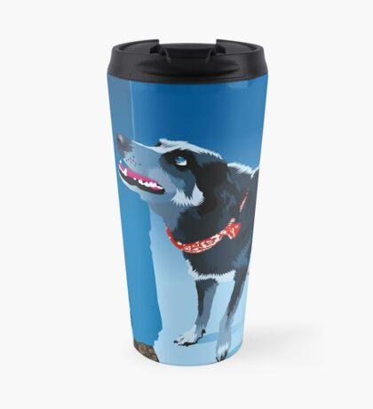 blue heeler Travel Mug