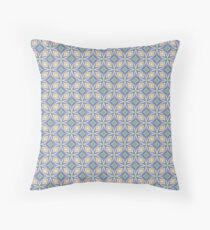 prismatic rainbow art chromatic seamless colorful repeat pattern Floor Pillow
