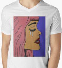 White Tears Men's V-Neck T-Shirt