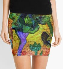 Tiptoe Through the Tulips Mini Skirt