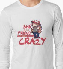 Stranger Things dustin henderson Long Sleeve T-Shirt