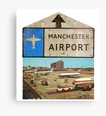 Manchester Airport Canvas Print