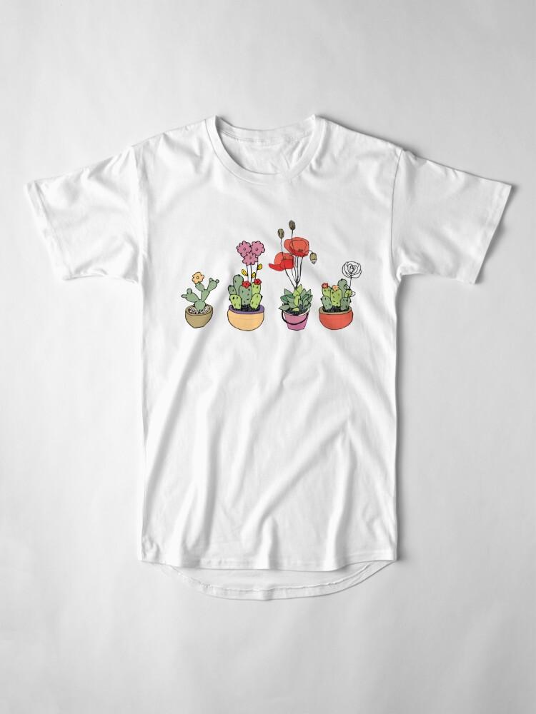 Alternate view of Botanical Wonder Long T-Shirt