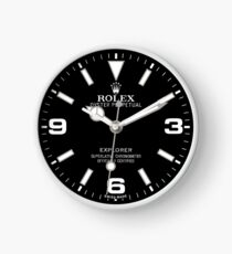 Rolex Explorer Face - 214270 - Black Dial Clock