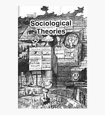 SOZIOLOGISCHE THEORIEN Fotodruck
