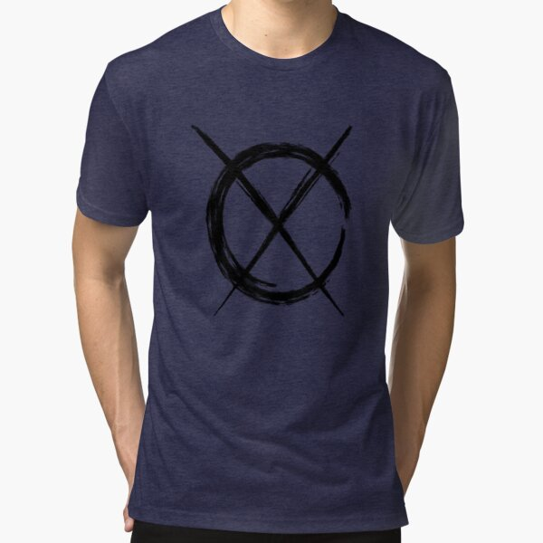 Art Cross (in black) Tri-blend T-Shirt