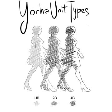 Yorha Unit Types (Nier: Automata) by Ruwah