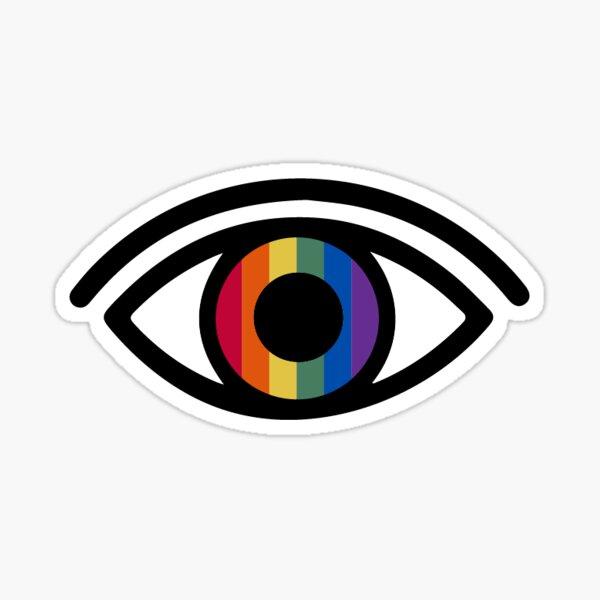 Pride Eye Sticker