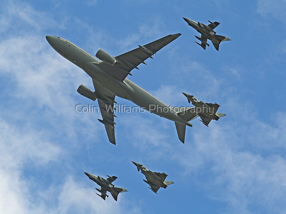 Queens Birthday Flypast 3 - London 15.06.2013 by Colin  Williams Photography