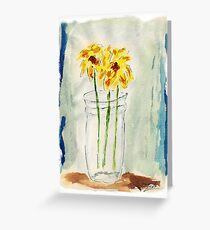 Daffodills Greeting Card