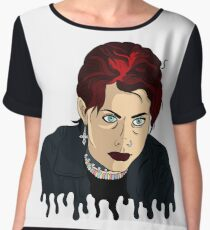Nancy from The Craft Chiffon Top