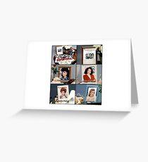 Designing women Greeting Card