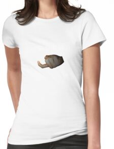 JUST SHELVE IT. Womens Fitted T-Shirt