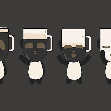 Guinness Panda Beer (black) by animinimal