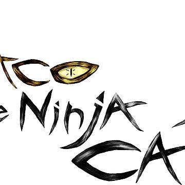 The Ninja Cat by MekaX