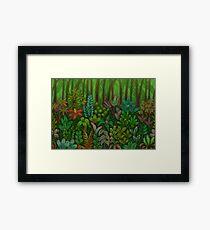 Paper Jungle Framed Print
