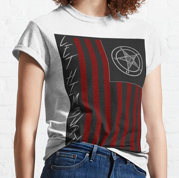 American Satan - Let Him Burn Classic T-Shirt