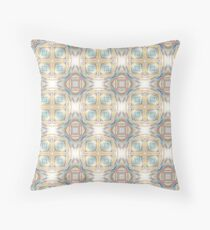 abstract prismatic explosion seamless colorful repeat pattern Floor Pillow