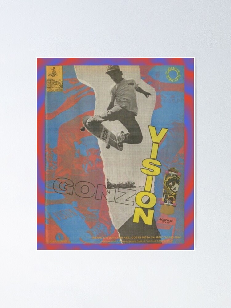 Alternate view of Gonz Poster