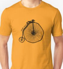 twisted wheels: penny farthing T-Shirt