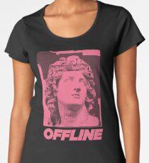 Helios is Offline Women's Premium T-Shirt