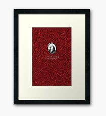 Oscar Wilde Temptation Framed Art Print