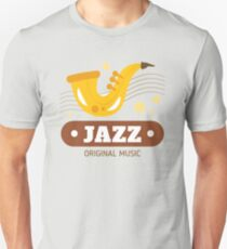 Jazz music 004 Unisex T-Shirt
