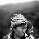 Black Mong and Baby by chelseal