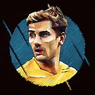 Geometric Griezmann by Mark White