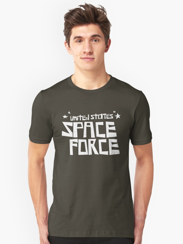 SPACE FORCE 09 - America's Best Space Defense! Unisex T-Shirt Front