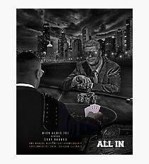 ALL IN-CODY RHODES SHIRT Photographic Print